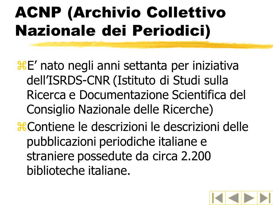 ACNP (Archivio Collettivo Nazionale dei Periodici)