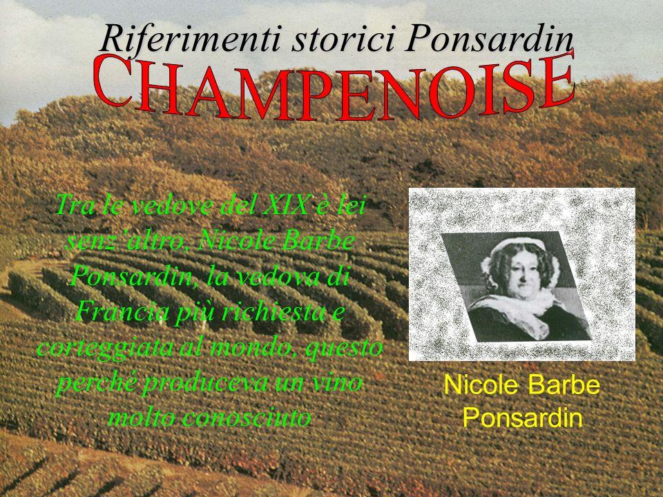 Riferimenti storici Ponsardin