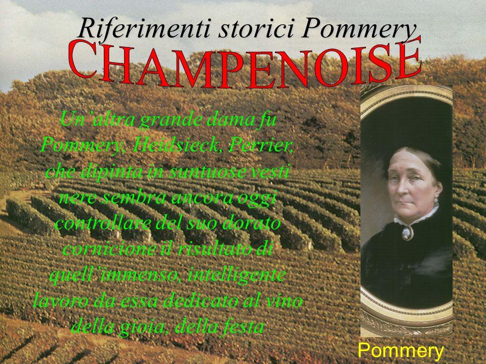 Riferimenti storici Pommery