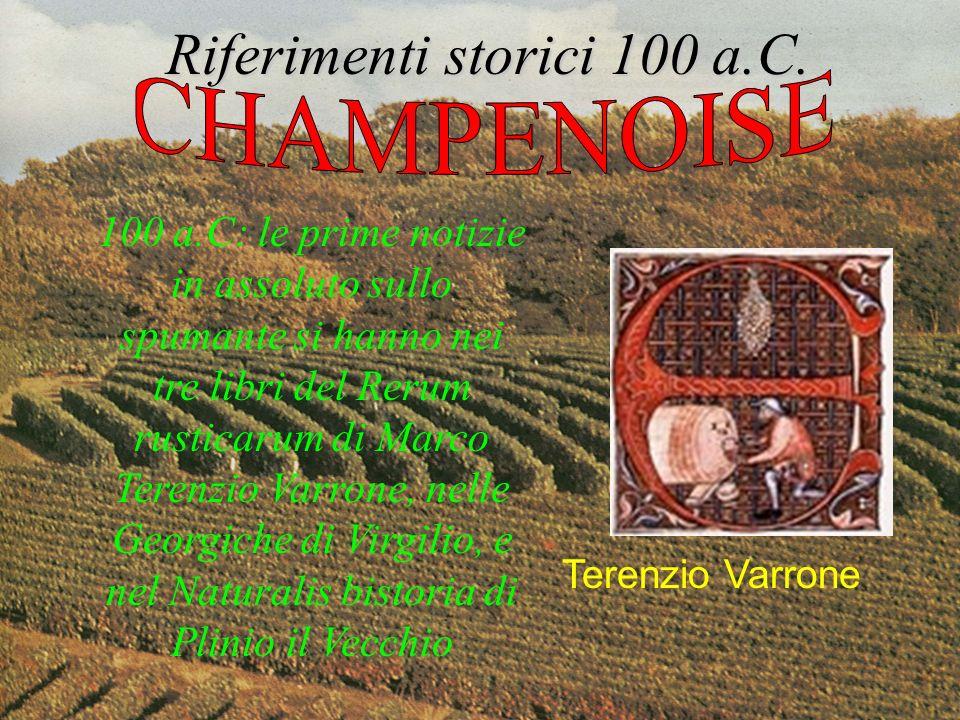 Riferimenti storici 100 a.C.