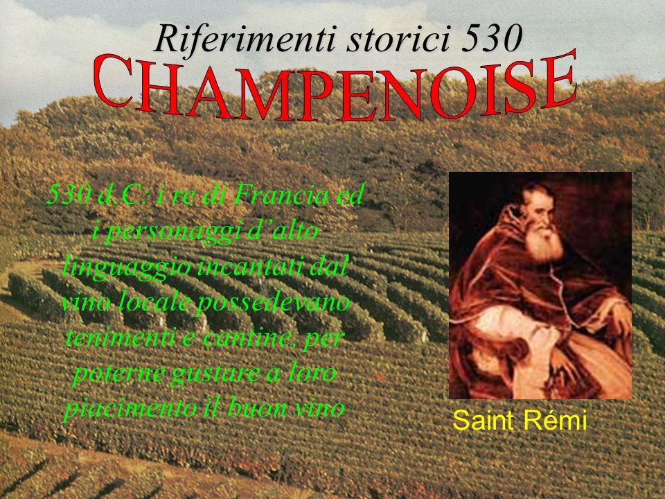 Riferimenti storici 530 CHAMPENOISE