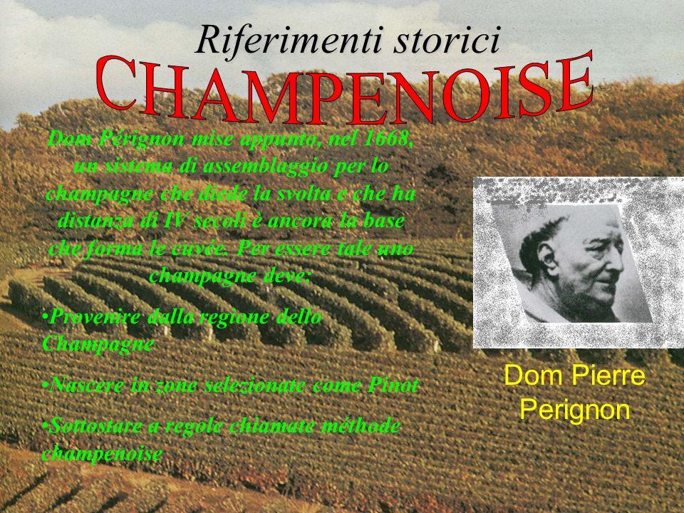 Riferimenti storici CHAMPENOISE Dom Pierre Perignon