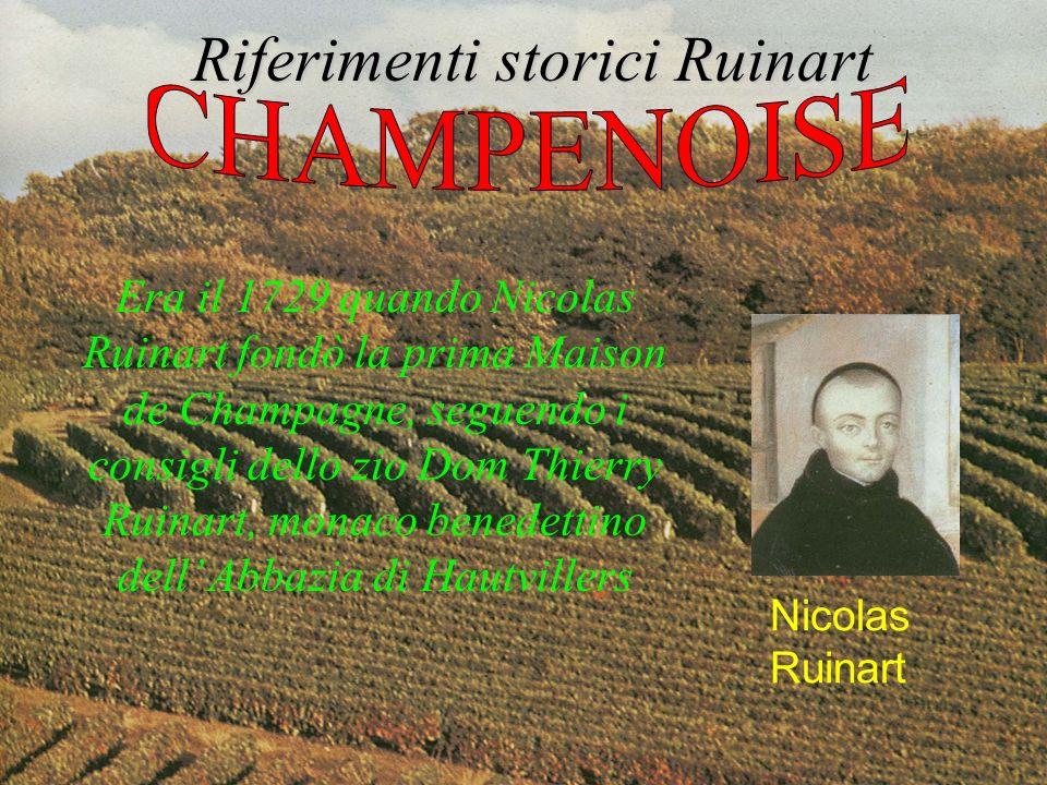 Riferimenti storici Ruinart