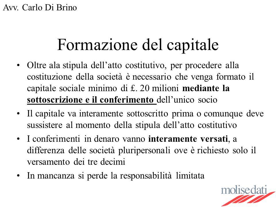 Formazione del capitale