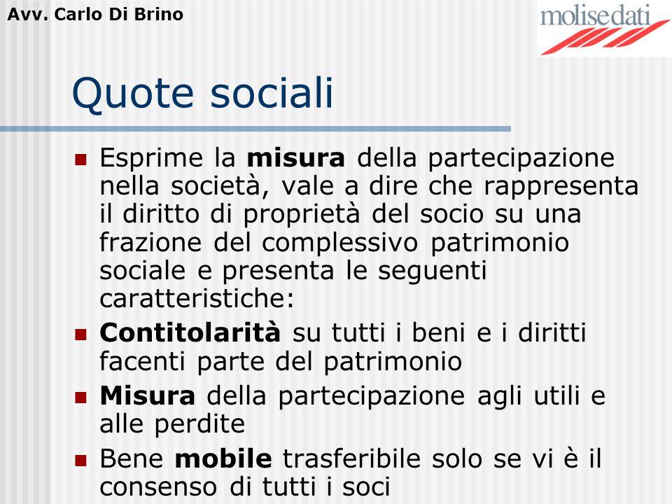 Quote sociali