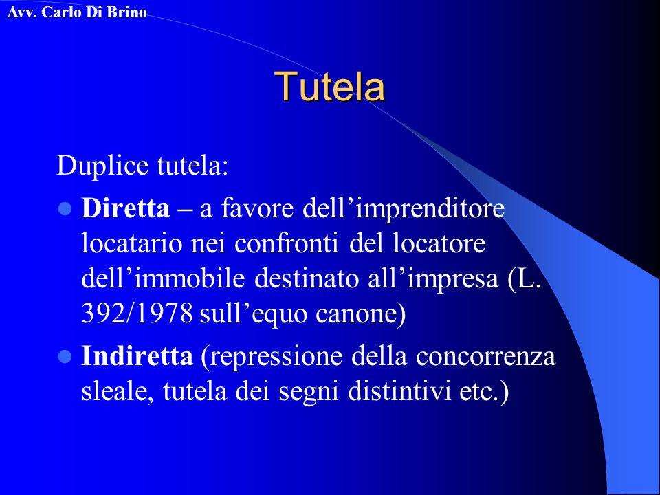 Tutela Duplice tutela: