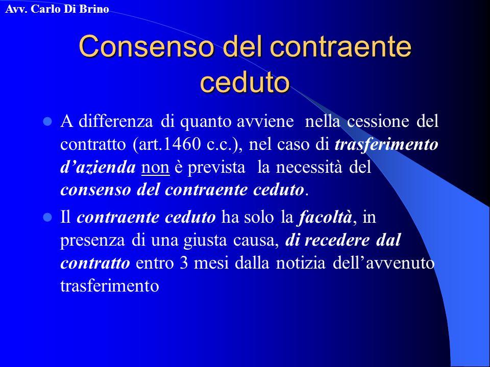 Consenso del contraente ceduto