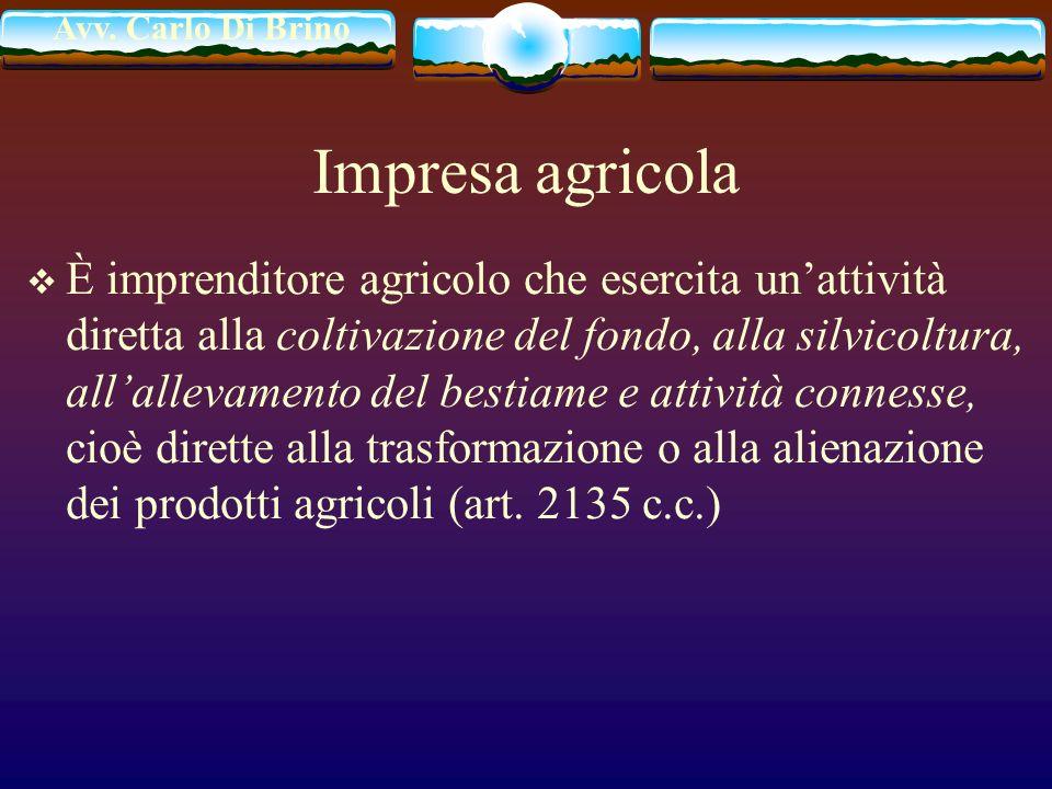 Impresa agricola