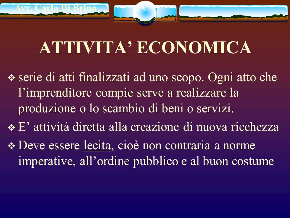 ATTIVITA' ECONOMICA