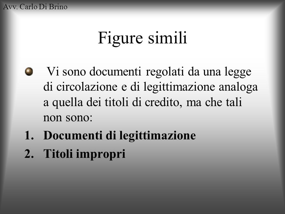 Avv. Carlo Di BrinoFigure simili.