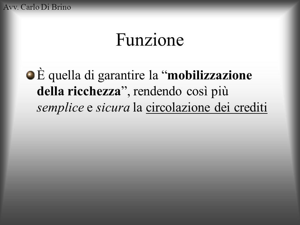 Avv. Carlo Di Brino Funzione.
