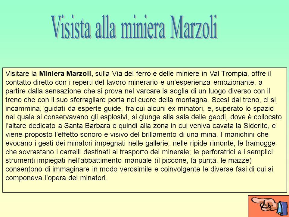 Visista alla miniera Marzoli