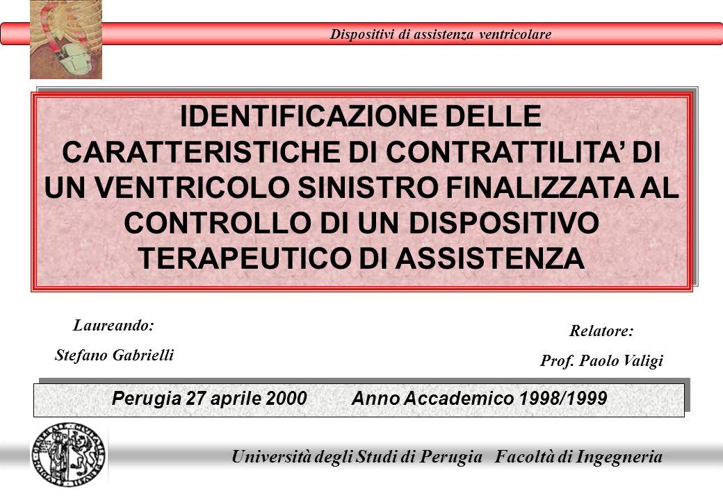 Perugia 27 aprile 2000 Anno Accademico 1998/1999
