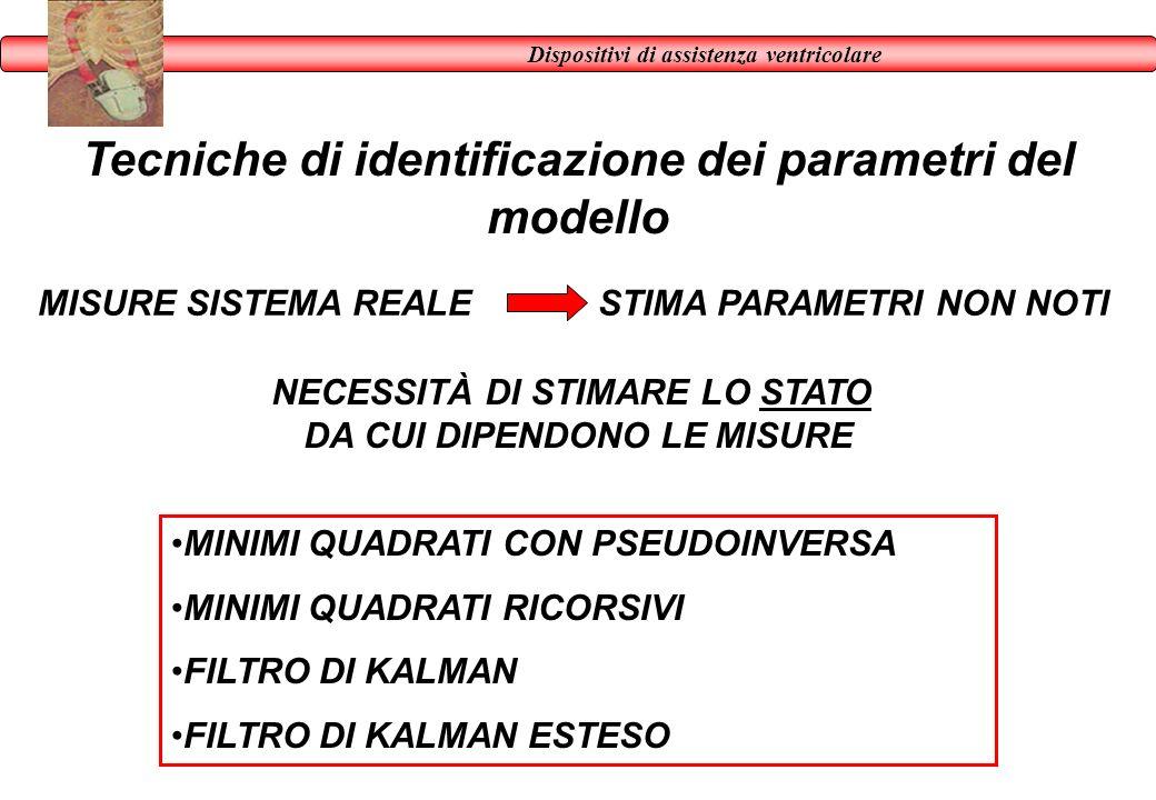 Tecniche di identificazione dei parametri del modello
