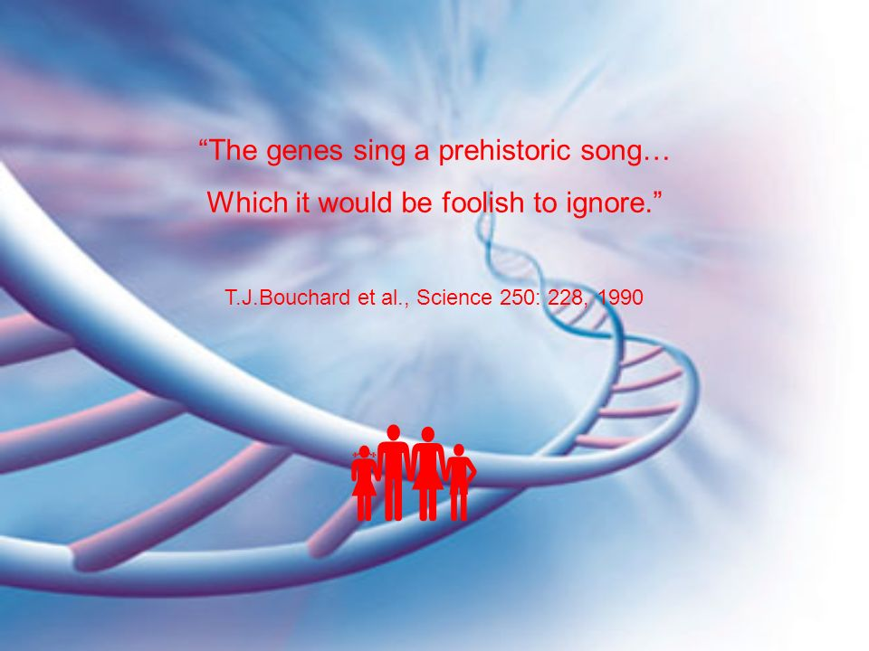 The genes sing a prehistoric song…