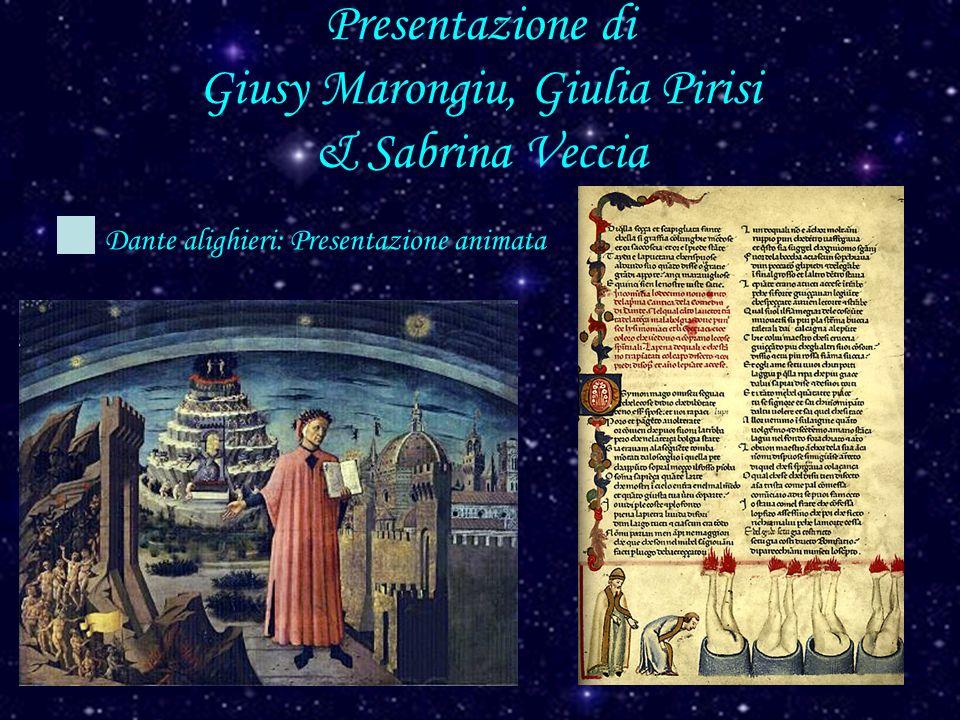 Presentazione di Giusy Marongiu, Giulia Pirisi & Sabrina Veccia