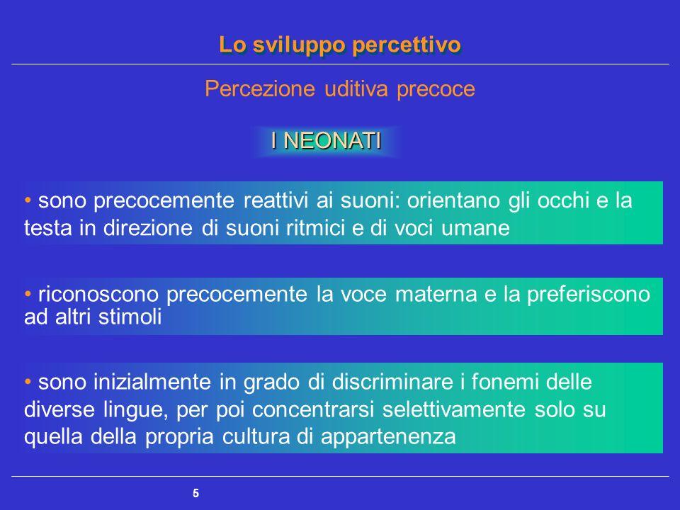 Percezione uditiva precoce
