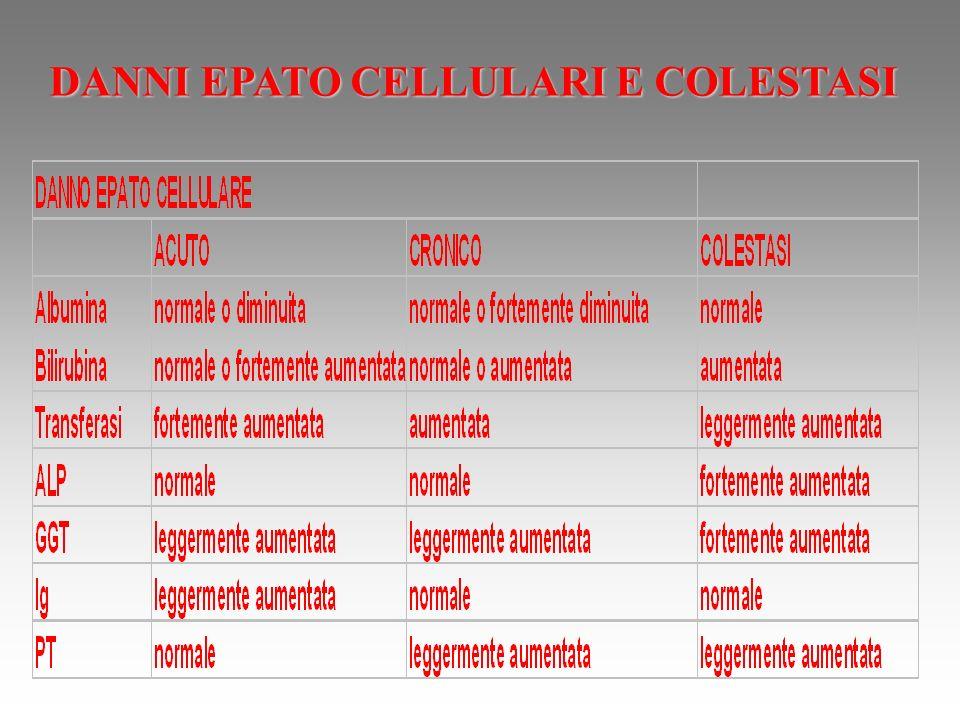 DANNI EPATO CELLULARI E COLESTASI