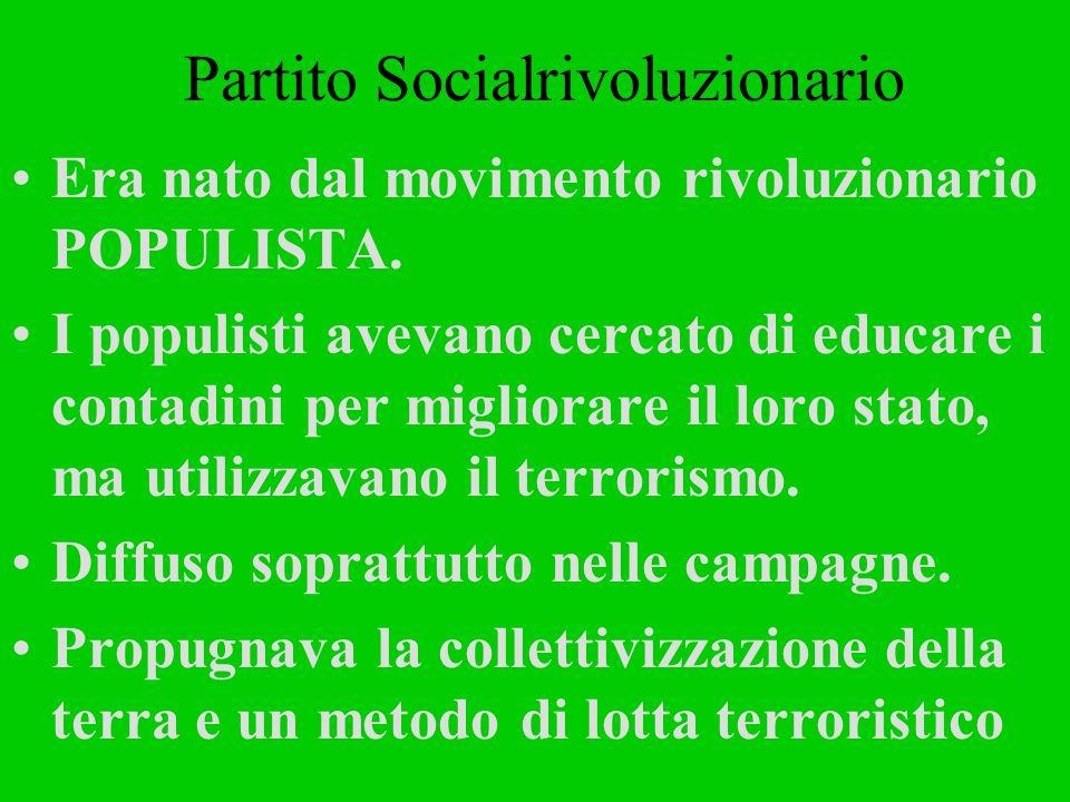 Partito Socialrivoluzionario