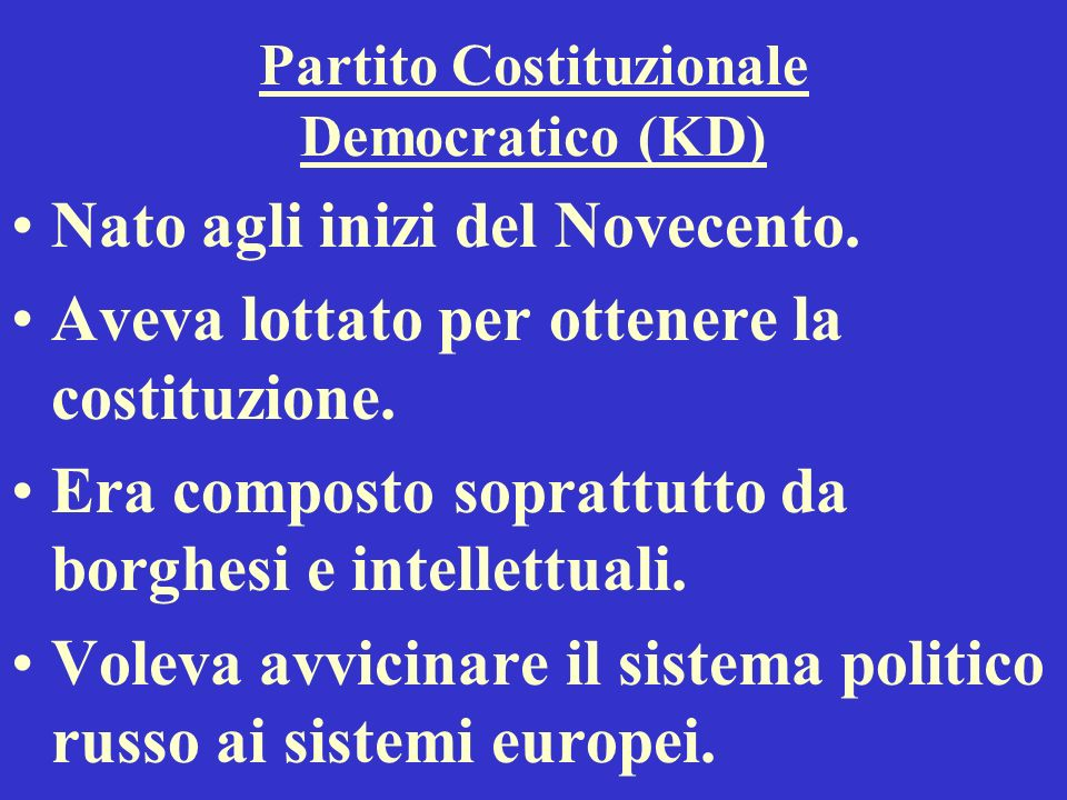 Partito Costituzionale Democratico (KD)