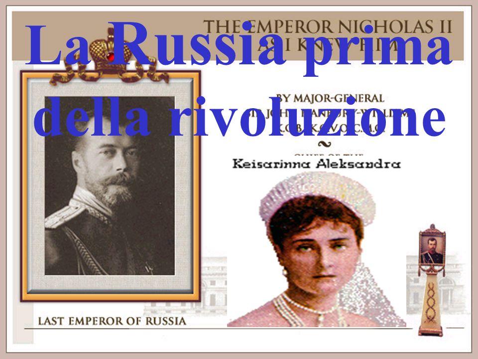 La Russia prima della rivoluzione