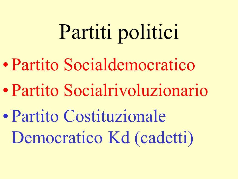 Partiti politici Partito Socialdemocratico