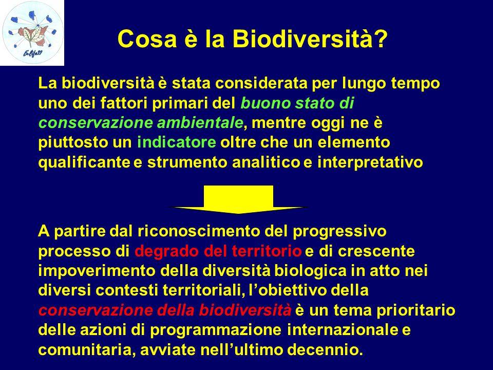 Cosa è la Biodiversità