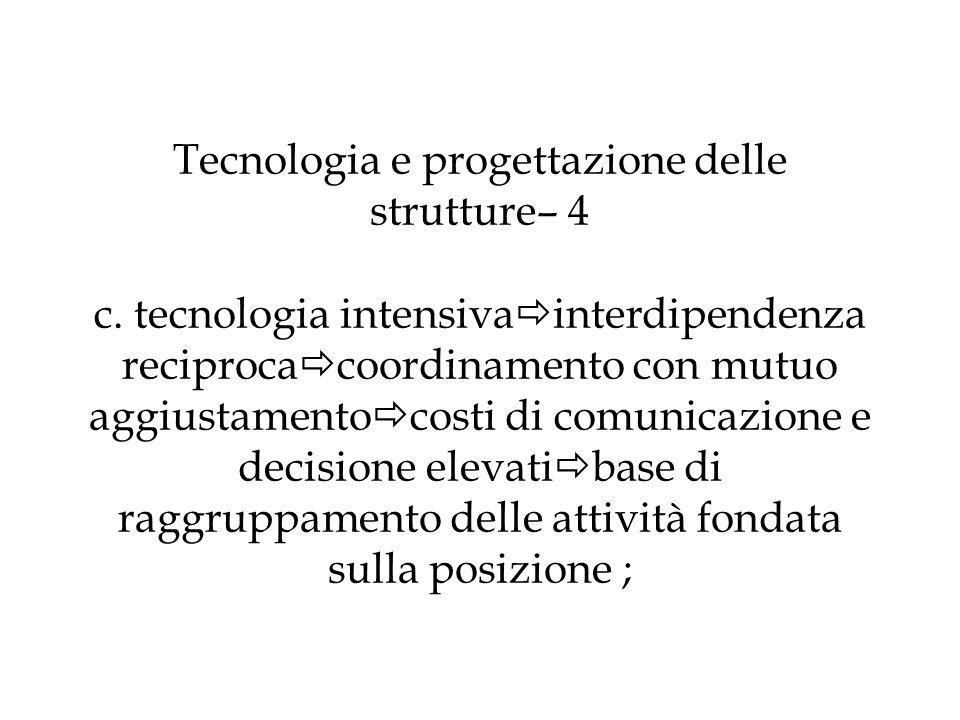 Tecnologia e progettazione delle strutture– 4 c