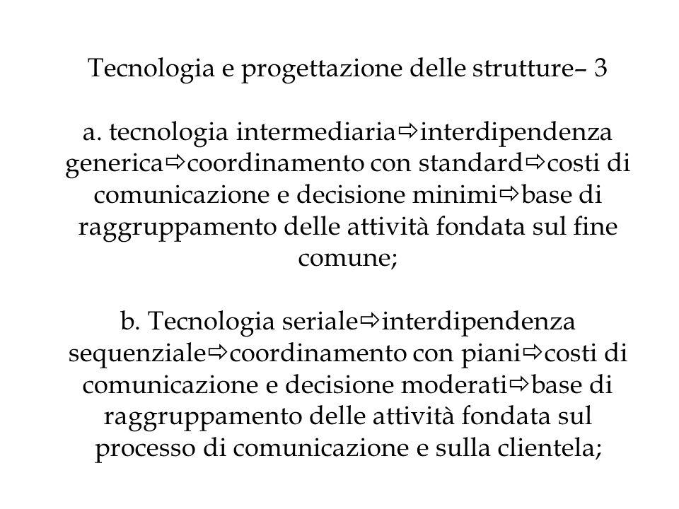 Tecnologia e progettazione delle strutture– 3 a