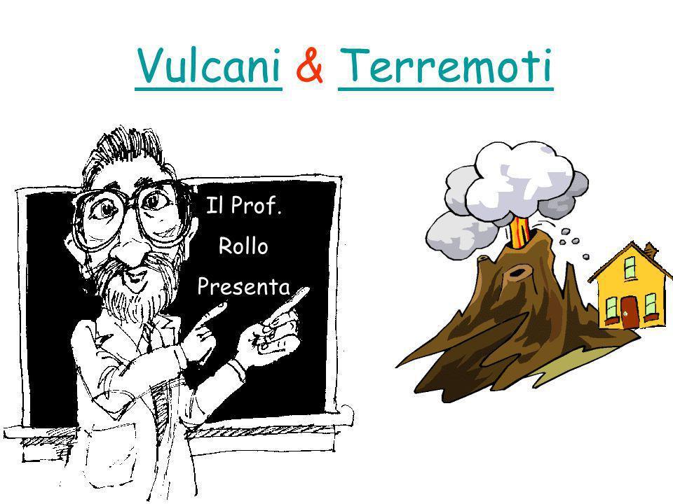 Vulcani & Terremoti Il Prof. Rollo Presenta