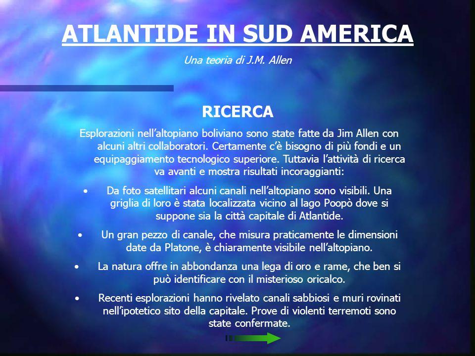 ATLANTIDE IN SUD AMERICA