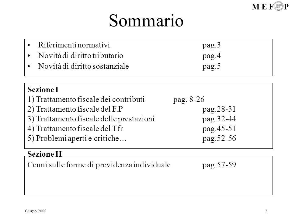 Sommario Riferimenti normativi pag.3