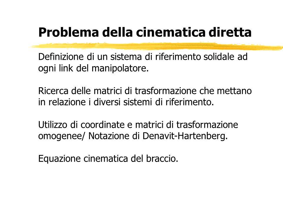 Problema della cinematica diretta