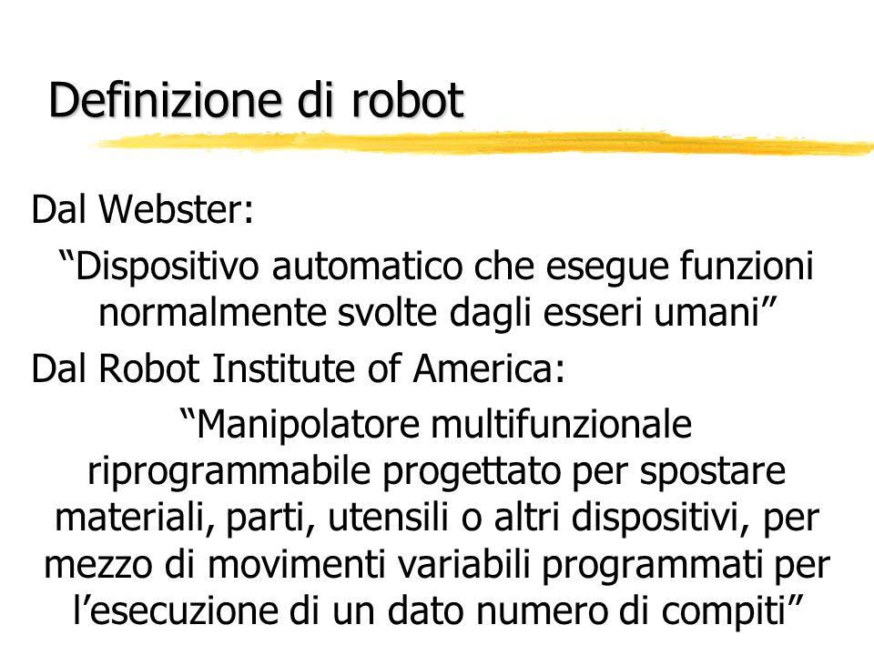 Definizione di robot Dal Webster: