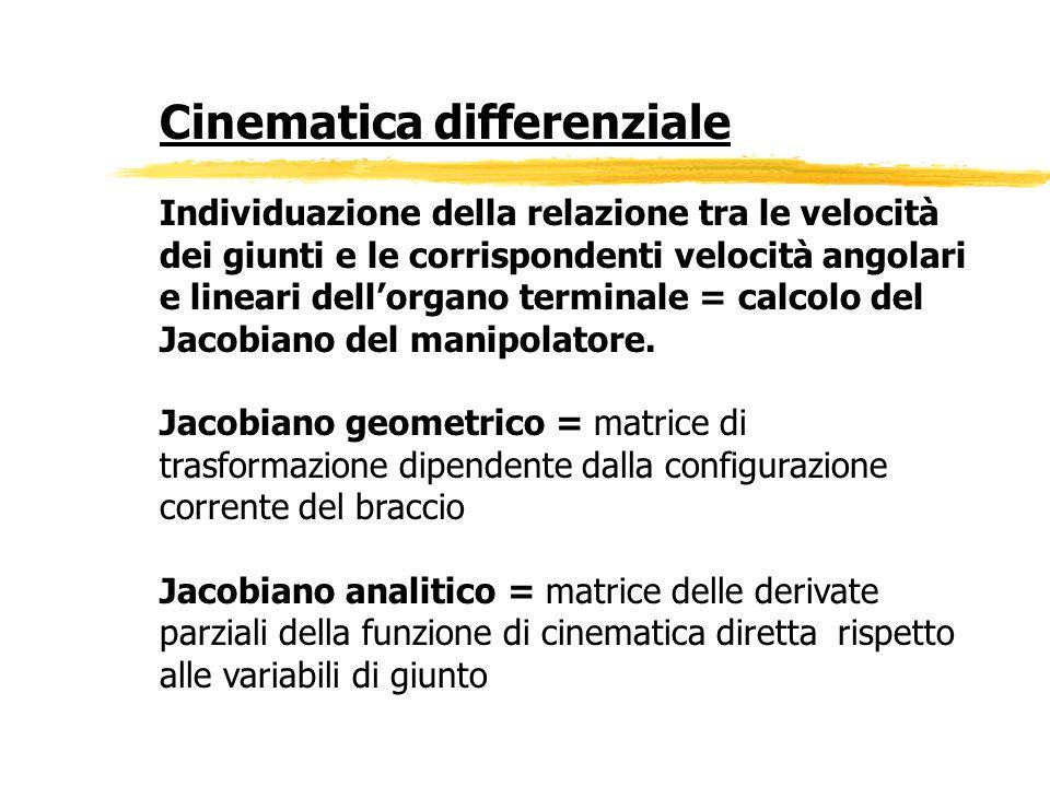Cinematica differenziale