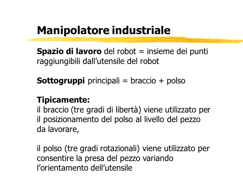 Manipolatore industriale