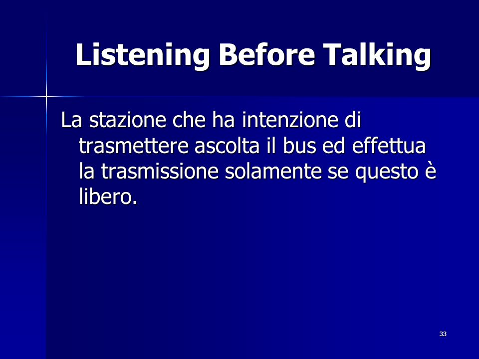 Listening Before Talking
