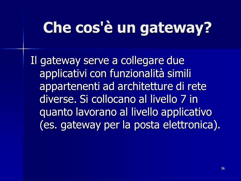 Che cos è un gateway