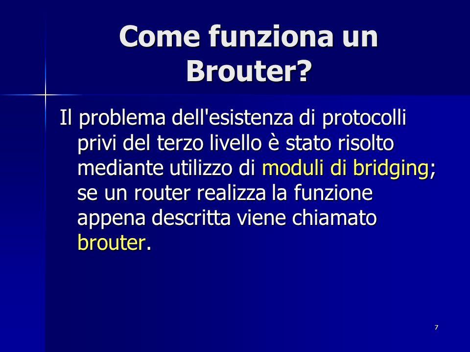Come funziona un Brouter