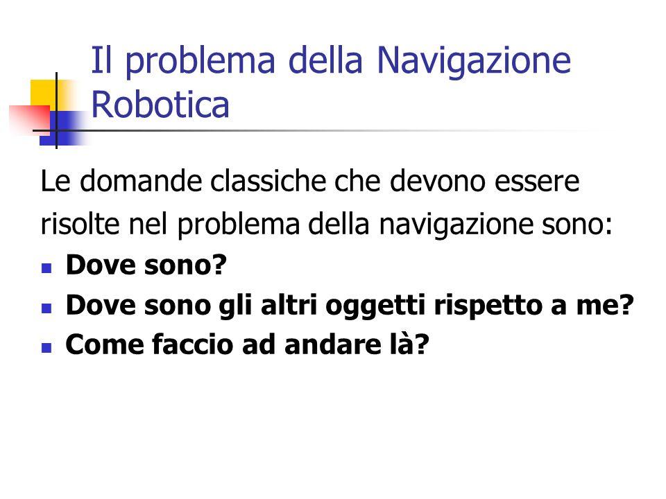 Il problema della Navigazione Robotica