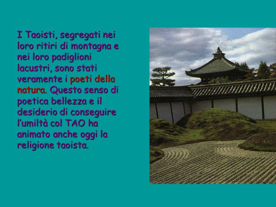 I Taoisti, segregati nei loro ritiri di montagna e nei loro padiglioni lacustri, sono stati veramente i poeti della natura.