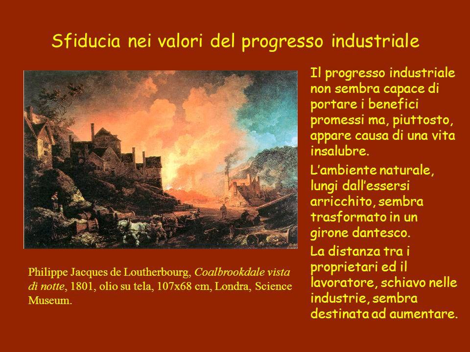 Sfiducia nei valori del progresso industriale