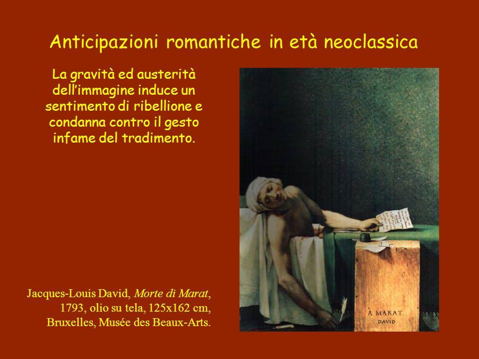 Anticipazioni romantiche in età neoclassica