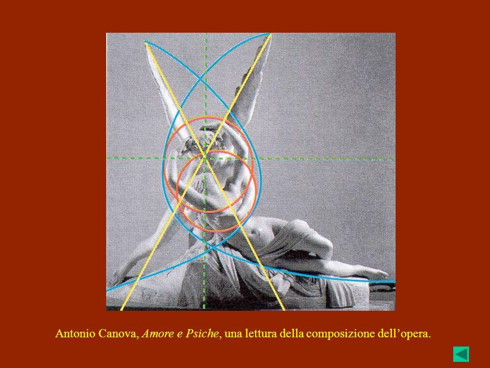 Antonio Canova, Amore e Psiche, una lettura della composizione dell'opera.