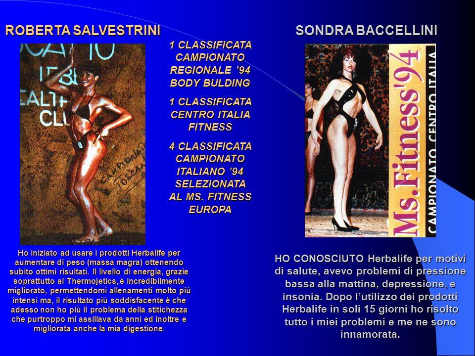 ROBERTA SALVESTRINI SONDRA BACCELLINI