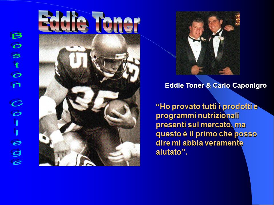 Eddie Toner Boston College