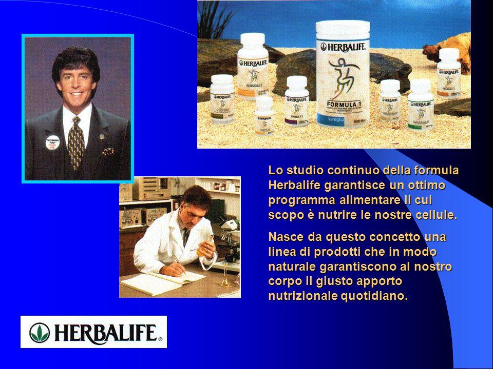 Lo studio continuo della formula Herbalife garantisce un ottimo programma alimentare il cui scopo è nutrire le nostre cellule.