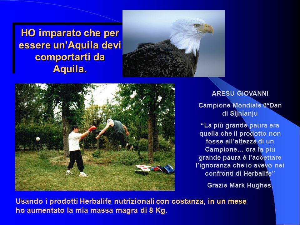 HO imparato che per essere un'Aquila devi comportarti da Aquila.