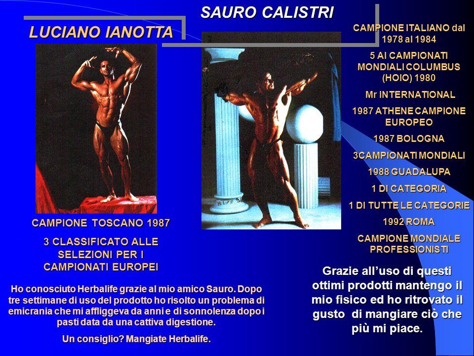 SAURO CALISTRI LUCIANO IANOTTA