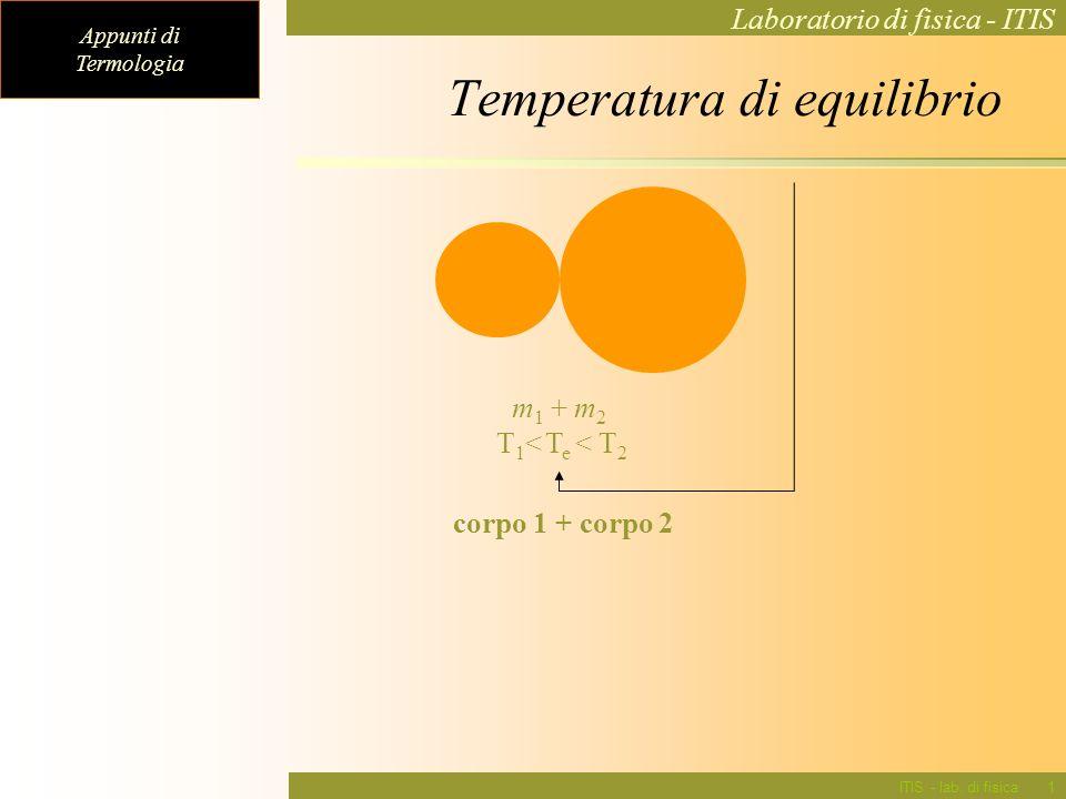 Temperatura di equilibrio